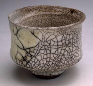 Raku 'teabowl'. 1996