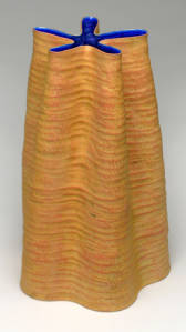 Orion 3. Pinch/coiled ironstone. 2008-9. Private collection.